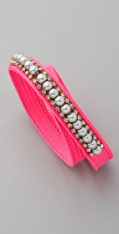 Juicy Couture The Crown Jewels Pearl Wrap Bracelet
