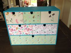 Ikea Moppe hack #decoupage. Paper, paint and Chemage.