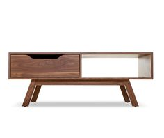 webb coffee table in walnut from #joybird