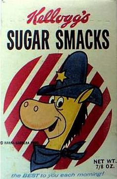 Sugar Smacks cereal  c. 1961  Quick Draw McGraw