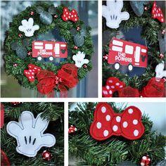 Mickey Christmas Wreath