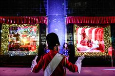 The unveiling of Bloomingdale's 2015 holiday windows. Farmhouse Side Table, Farmhouse Kitchen Decor, How To Clean Velvet, Vinyl Spray Paint, Refinish Wood Furniture, Diy Leather Projects, Diy Bathroom Remodel, Buying A New Home, Home Upgrades