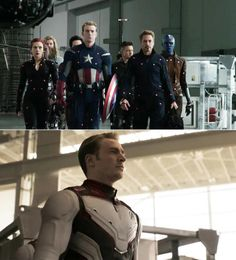 """25 """"Avengers: Endgame"""" Pictures That Show Iconic Scenes Before And After CGI Marvel 3, Marvel Actors, Captain Marvel, Captain America, Female Avengers, Avengers Team, James Cameron, Star Wars Film, Mark Ruffalo"""