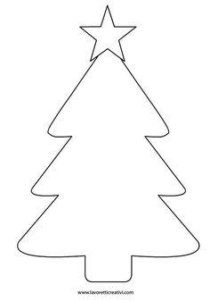 Felt Christmas Decorations, Christmas Card Crafts, Preschool Christmas, Christmas Colors, Christmas Art, Simple Christmas, Holiday Crafts, Christmas Activities, Christmas Tree Outline