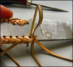 Eight-String Round Edge Leather Braid, Outdoors-Magazine.com MXS