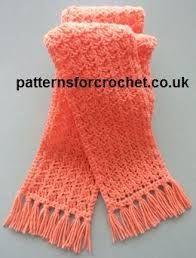 Resultado de imagen de scarf crochet preti