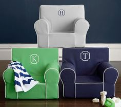 Take it from the kids' room to the playroom to the living room, the Anywhere Chair moves with them throughout the house!