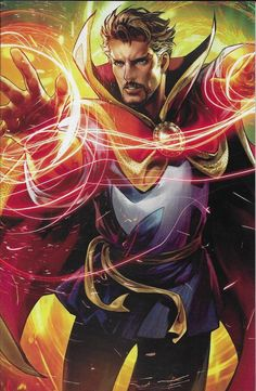 Doctor Strange Comic Issue 6 Limited Variant Modern Age First Print 2018 Waid - Marvel Universe Marvel Girls, Marvel Vs, Marvel Fanart, Marvel Dc Comics, Marvel Heroes, Captain Marvel, Comic Book Characters, Marvel Characters, Marvel Movies
