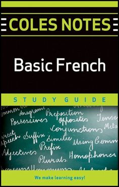 Coles Notes Study Guides  Basic French