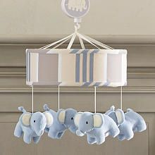 Lambs  Ivy Elephant Tales Mobile