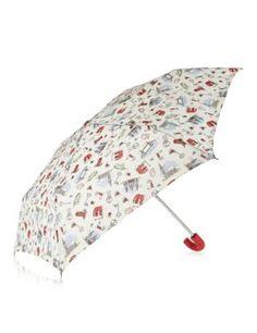 London Theme Print Umbrella with Stormwear™ | M&S