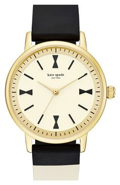 kate spade new york 'crosby' silicone strap watch, 34mm available at #Nordstrom