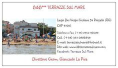 Wonderful Bed and Breakfast on the Beach in Pozzallo (RG) Sicily