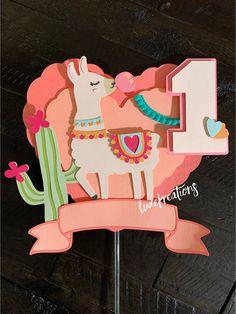 Excited to share this item from my shop: Llama cake topper, llamas, llama party, llama decor, llama Toy Story Cake Toppers, Toy Story Cakes, Cupcake Toppers, Diy Cake Topper, Unicorn Cake Topper, Llama Birthday, Birthday Kids, Summer Birthday, Llama Decor
