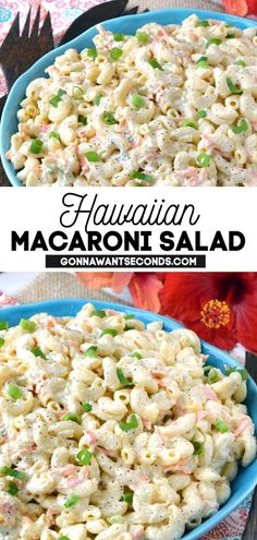 171 reviews · 55 minutes · Serves 8 · *NEW* Hawaiian Macaroni Salad is one of my all-time favorite recipes, and one that I make for my family time and time again. It's creamy, delicious, and refreshing- a truly one of a kind taste… Appetizers For A Crowd, Easy Appetizer Recipes, Healthy Appetizers, Easy Dinner Recipes, Great Salad Recipes, Lunch Recipes, Pasta Recipes, Hawaiian Macaroni Salad, Dinner Party Starters