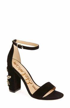 7224259b8b60 Sam Edelman Yaro Ankle Strap Sandal (Women) Womens High Heels