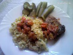 Mäsko pečené s lečom Grains, Rice, Food, Essen, Meals, Seeds, Yemek, Laughter, Jim Rice