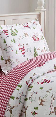 Dear Santa Bedding #kids #christmas