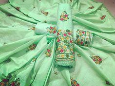 B4UFashion Present   Lovely Green Color Partywear Embroidered Cotton Dress Material For Order 📲9033763613 📲07572803833   🌍🌍Worldwide Delivery🌍🌍  #anarkalisuit #anarkali #Dress #salwaarsuit #lehengacholi #lehenga #saree #indianfashion #indianwear #indianwedding #bridalfashion #bollywoodstyle #ethincfashion #fashion #sareelove #indianfashion #weddinginspiration #beautifulbride #wedding #shopping #b4ufashion #indianfashionblogger