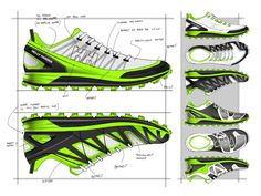 19e7ee99f5e1 Helly Hansen Rohkun by Ghost Works industrial design consultancy Sneakers  Sketch, Shoe Sketches, Portfolio
