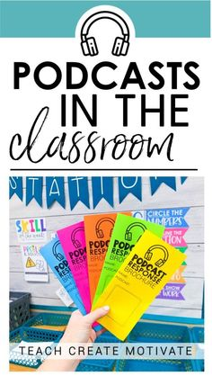 Using Podcasts in the Classroom is part of Teaching classroom - Podcasts in the classroom are so fun and engaging! Have you jumped on the podcast train yet ! I have a great system for using podcasts in the classroom 5th Grade Classroom, Middle School Classroom, Flipped Classroom, English Classroom, Teaching 5th Grade, Teaching Gifted Students, Middle School Advisory, 8th Grade Reading, Ell Students