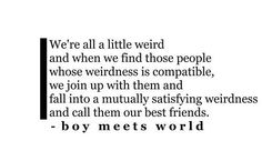 he's got a good perspective of the world although its basically what Dr. Seuss said