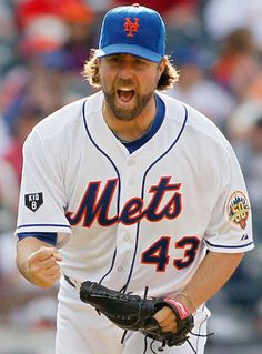 Great, inspiring story of knuckleballer R.A. Dickey