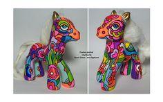 custom my little pony - pop art style