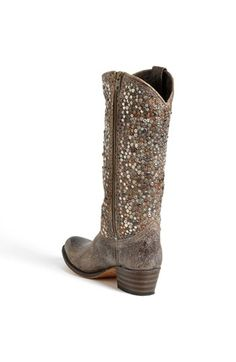 Frye 'Deborah' Studded Boot | Nordstrom. I think I need to bring back the cowboy boot!