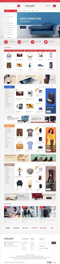 KoolShop is a modern, clean and professional multipurpose #WordPress @WooCommerce theme for stunning #eCommerce website with 12+ unqiue homepage layouts download now➩ https://themeforest.net/item/koolshop-multipurpose-woocommerce-wordpress-theme/18333085?ref=Datasata Está farto de procurar por templates WordPress? Fizemos um E-Book GRATUITO com OS 150 MELHORES TEMPLATES WORDPRESS. Clique aqui http://www.estrategiadigital.pt/150-melhores-templates-wordpress/ para fazer download imediato!