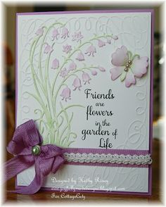 Joyfully Made Designs: CottageCutz - Springtime Bluebell Flowers-try MS Cricut Cart for the flower