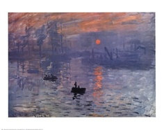 My favorite Monet. Sunrise.