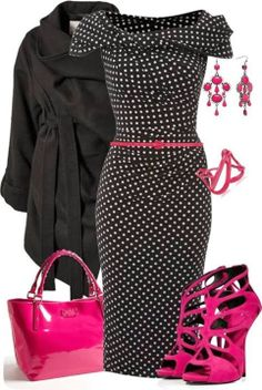 Outfit Ideas For Ladies...like it better without the belt though.
