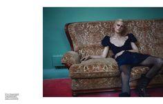 'La fièvre Grunge' by Mert Alas & Marcus Piggott for Vogue Paris September 2013 [Editorial] - Fashion Copious