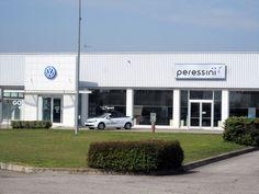Volkswagen dealership in Portogruaro (VE), Italy