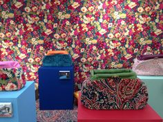 Quirky B - Liberty Fabrics Collection at Decorex International 2016. Felix Raison Classic