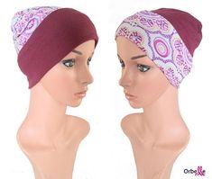 """Bonnet de nuit """"Salomé"""""""" pour femmes en chimiothérapie"""