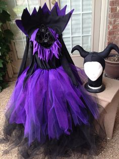 Maleficent Just in time for the movie , great for Disney, party's & Halloween. on Etsy, $85.00