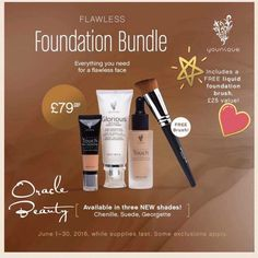💜Well with the amazing deal on the June Customer bundle we have been challenged to be first to sell 9 of them 👇👇👇👇👇🌟 💜Girls if you've ever wanted to try the Liquid foundation this is the month made for you 💋 💜All 4 of the products required to give you a Hollywood finish to your makeup are on sale this month 🎁 💜Hands up if you are even a wee bit interested?🙋🙋🙋🙋🙋🙋🙋🙋🙋🙋🙋 💜I need 9 of you 💋😜