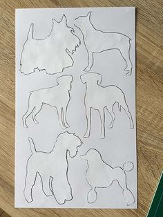 week-two Final paper block ready to be reversed then put into a pattern repeat