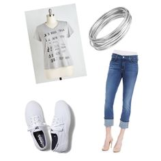ce2b8cd643f comfy casual by sarahmariestrickland on Polyvore featuring polyvore fashion  style Out of Print NYDJ Keds Worthington