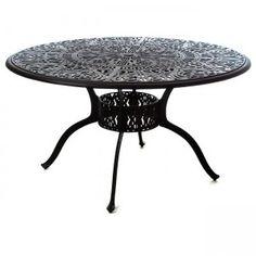 round tuscany dining table winlaid lazy susan