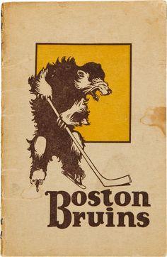 Vintage Boston Bruins #poster