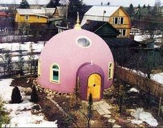 Pink Dome House