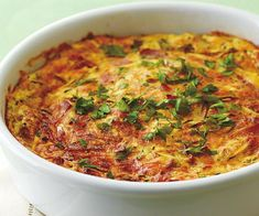 Easy ham and zucchini quiche recipe - By Australian Women& Weekly. Skewer Recipes, Healthy Salad Recipes, Lunch Recipes, Wine Recipes, Zucchini Quiche Recipes, Pear Tarte Tatin, Pie Pastry Recipe, Sour Cream Pancakes, Quiche Dish