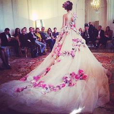 {fashion inspiration | runway: dolce & gabbana alta moda spring couture} one word: gorgeous!