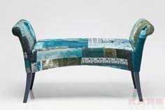 Polsterbank Motley Blue Hour  #blau #kare #design #blue #modern #moebel #wien #austria #kareaustria