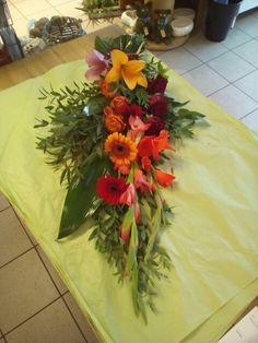 Bårebuket funeral flowers