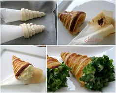 patatesli,peynirli milföy külahlar