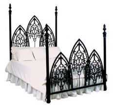 Gothic bed.
